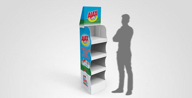 Les avantages des supports de publicité sur lieu de vente en carton