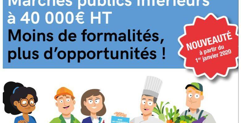 Le guide pour les TPE & PME relatif aux marchés publics inférieurs à 40 000 euros HT
